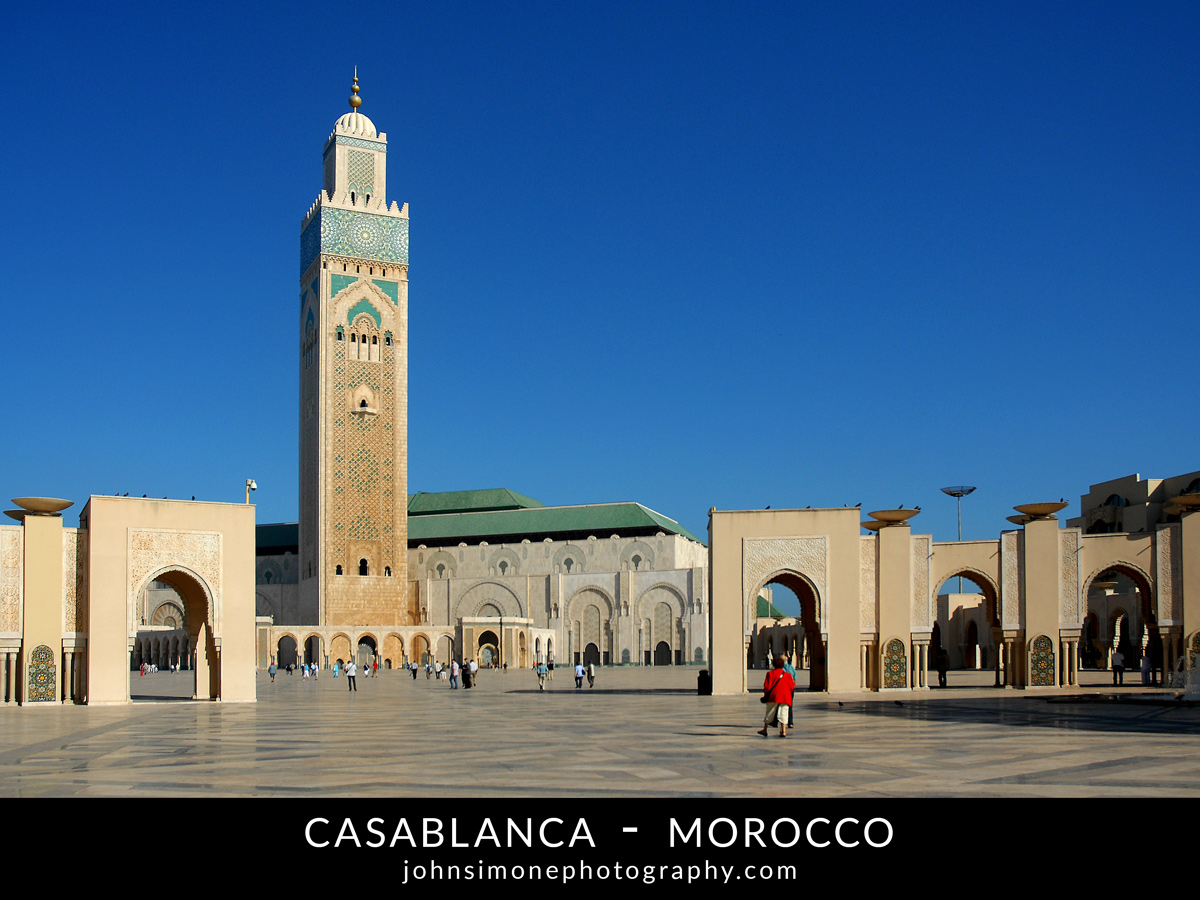 A photo-essay by John Simone Photography on Casablanca, Morocco