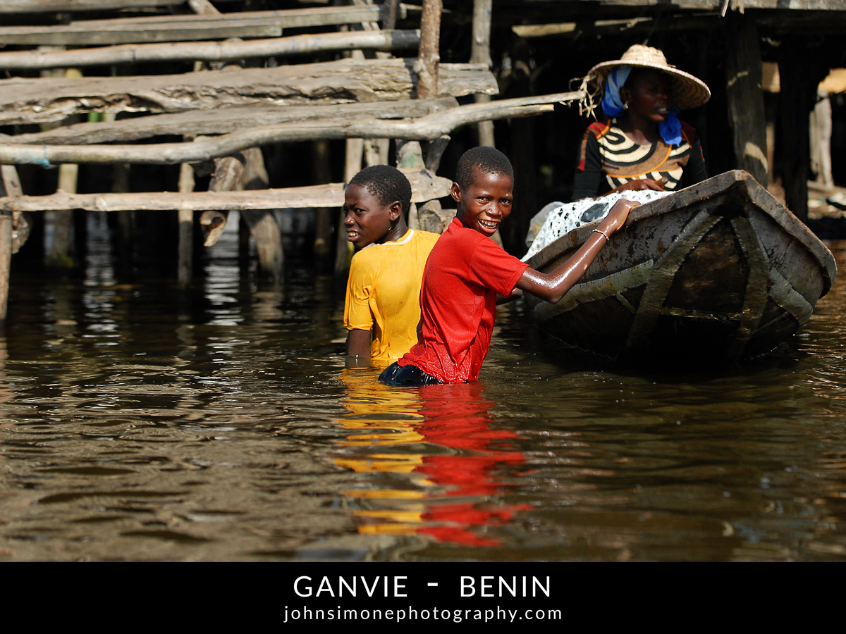 A photo-essay by John Simone Photography on Ganvie, Benin