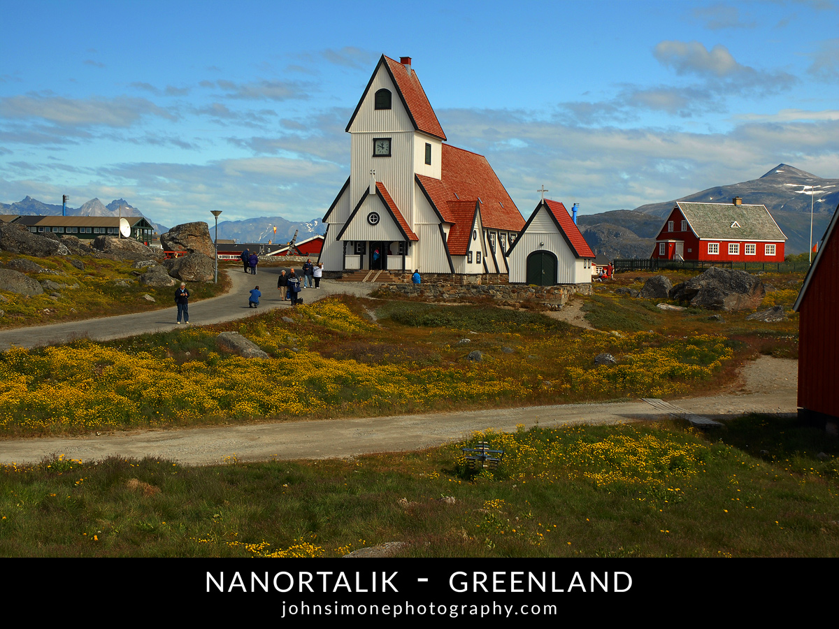 A photo-essay by John Simone Photography on Nanortalik, Greenland
