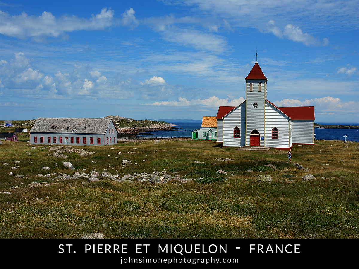 A photo-essay by John Simone Photography on St. Pierre et Miquelon, France
